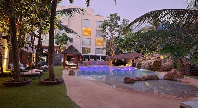 Novotel hotel. goa, travel