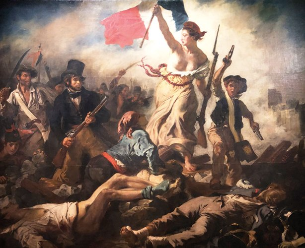 Liberty Leading the People, Eugène Delacroix, Oil on canvas