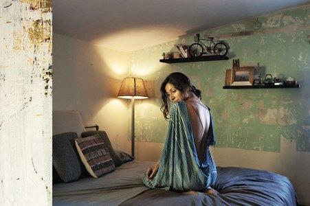 Monica Dongra models Celldsgn 11.11's A/W collection