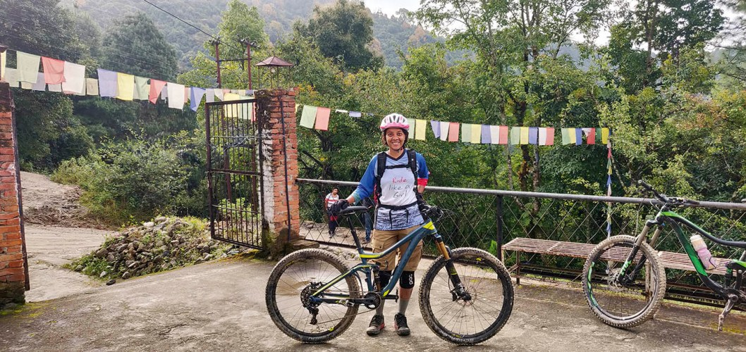 Shreya Dasgupta: Tackling off-road trails and tricky descents