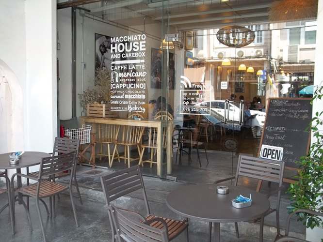 A cafe in the heart of Phuket's Old Town