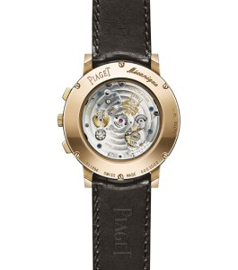 Piaget Altiplano Chronograph (back)