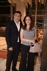 Sanjay and Ina Arora