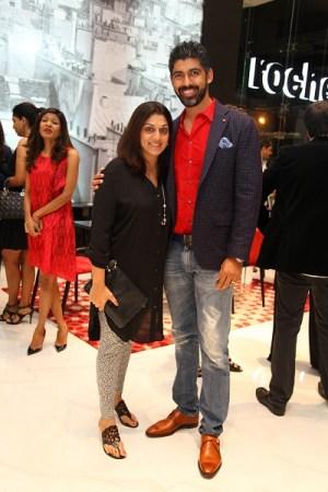 Roopa and Arjun Pratap