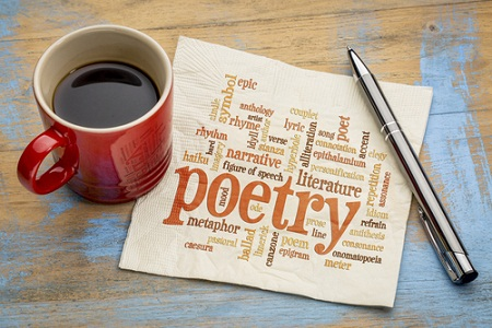 Poetry and Coffee - A winning combo!
