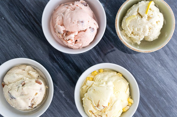 Malai's array of ice creams