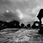 Photograph by Prabuddha Dasgupta for Silence In Hampi at Ganjam, Chennai