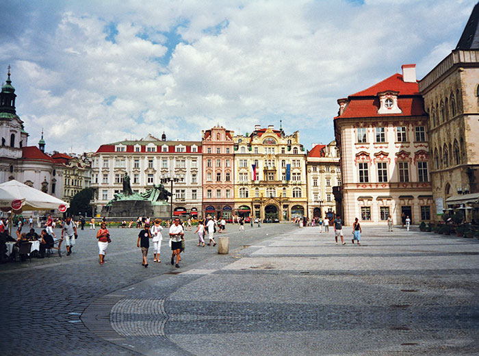 Prague, Eastern European Architecture