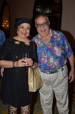 Praveena and Jamal Mecklai