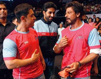 Aamir Khan, Abhishek Bachchan, Shah Rukh Khan
