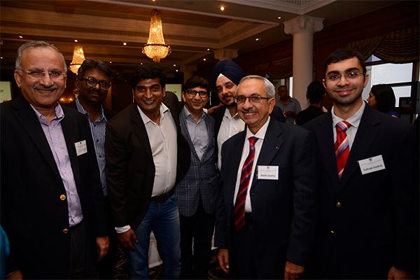 Ulhas Yargop, Vinod Mandlik, Sajan Thomas, Rajiv Gada, Tashwinder Singh, Nadir Godrej & Sohrab Godrej
