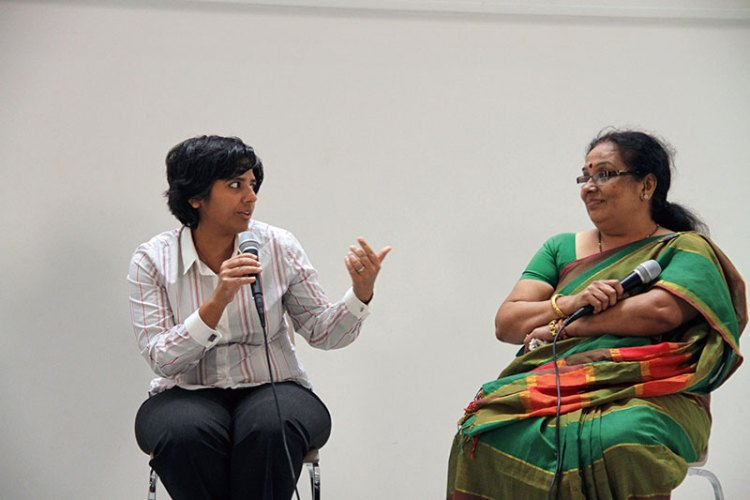 Radhika Piramal with Padma Iyer