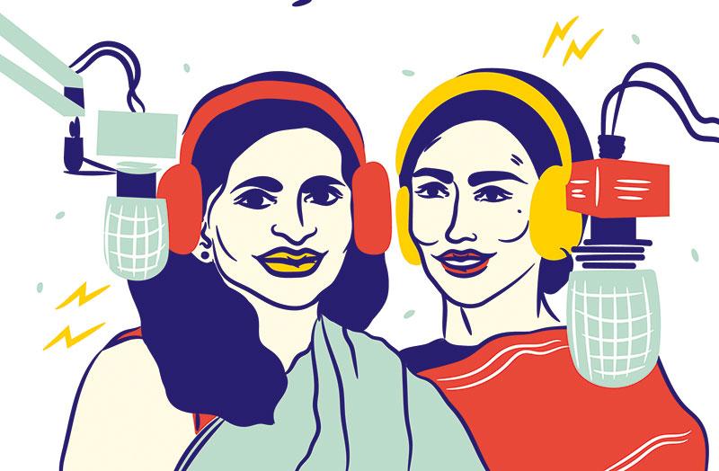 Radhika Viswanathan, Samyuktha Varma, Researchers and Development Communication Specialists
