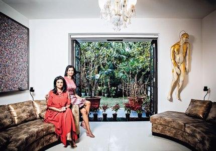 Rajshree and Aishwarya Pathy: creative differences, strategic alliance