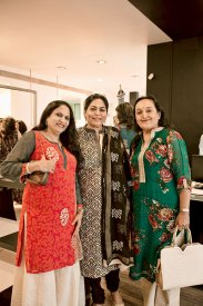 Raksha Mehta, Verve's Arti Sarin, Reena Jaggi