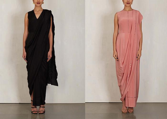 Rashmi Varma's Sari Dress