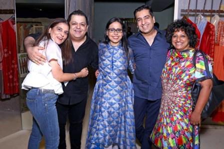 Reynu Tandon, Rohit Ghandi, Anju Modi, Rahul Khanna, Ambika Pillai