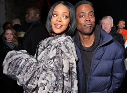 Rihanna, Chris Rock at Fenty x Puma