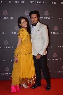 Genelia and Riteish Deshmukh