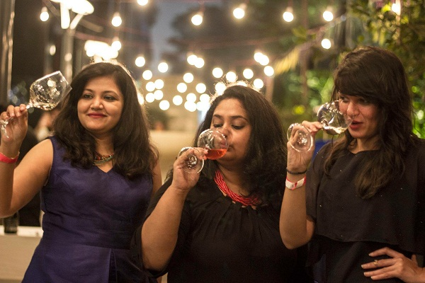 Rojita Tiwari, Ruchika Agarwal D'souza and Gargi Kothari, Agents of Cheer