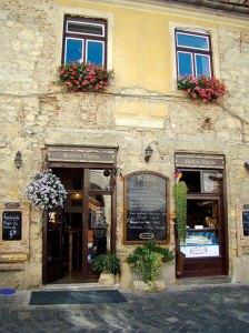 A charming Cluj cafe