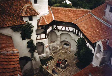 Labyrinth interiors  of Bran Castle