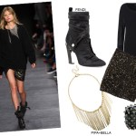 Romantic rocker party looks get the look party season what to wear