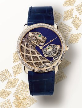 Ronde Louis Cartier Filigree Watch