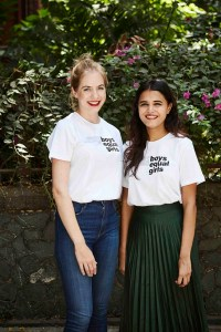 On the left; Ruchika Parab, Co-Founder at MIXX