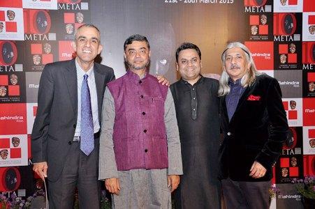 Ruzbeh Irani, S P Shukla, Jay Shah, Sanjoy Roy