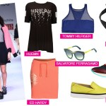 Sports luxe runway trend fashion burberry salvatore ferragamo Hermes Tommy hilfiger huemn ed hardy