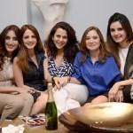 Farah Khan Ali, Sussanne Khan, Salpi Gandhi, Malaika Khan, Simone Arora at Simone's store