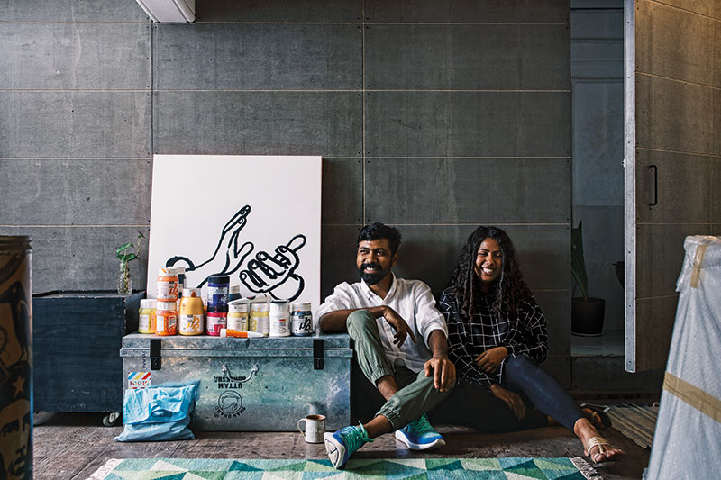 Sameer and Zeenat Kulavoor, Bombay Duck Designs