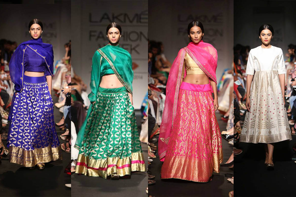 Lakme Fashion Week 2014 Sanjay Garg for Raw Mango