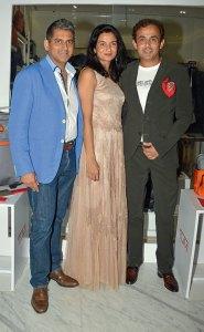 Sanjay Kapoor, Komal and Ratul Sood