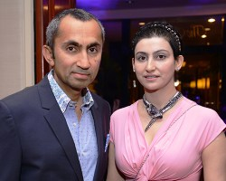 Sanjay and Shalini Passi