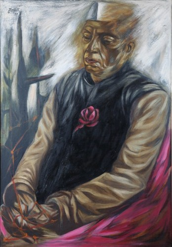 Untitled (Portrait of Nehru)