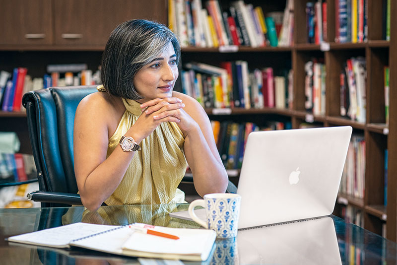 Schauna Chauhan Saluja, CEO of Parle Agro Pvt. Ltd