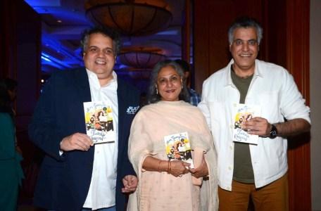 Sandeep Khosla, Jaya Bachchan and Abu Jani