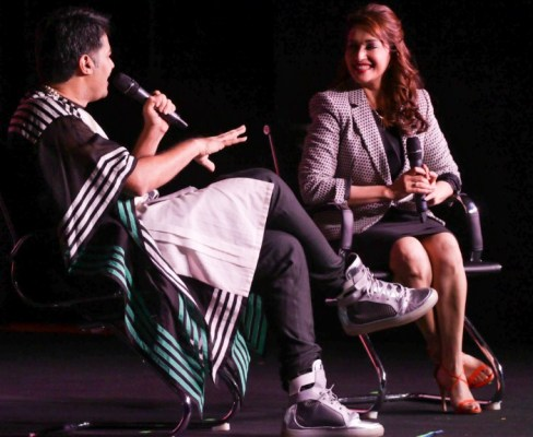 Parmesh Shahani in conversation with Madhuri Dixit