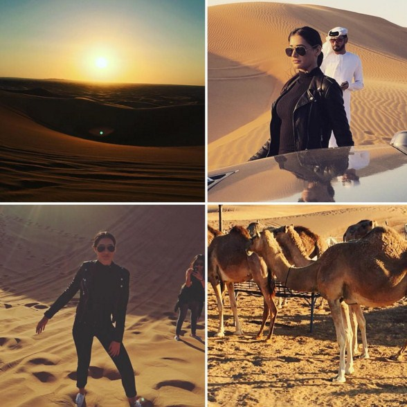 Nargis Fakhri plays diva in the dunes in Dubai