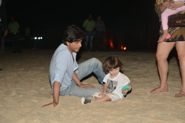 Shah Rukh Khan with his son Abram
