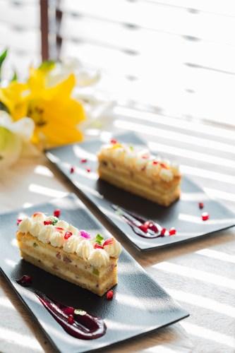 Café Tesu's signature pastry