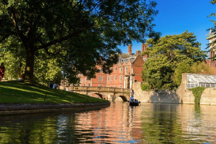 River Cam in England