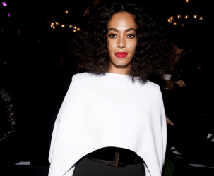Solange Knowles at Balmain