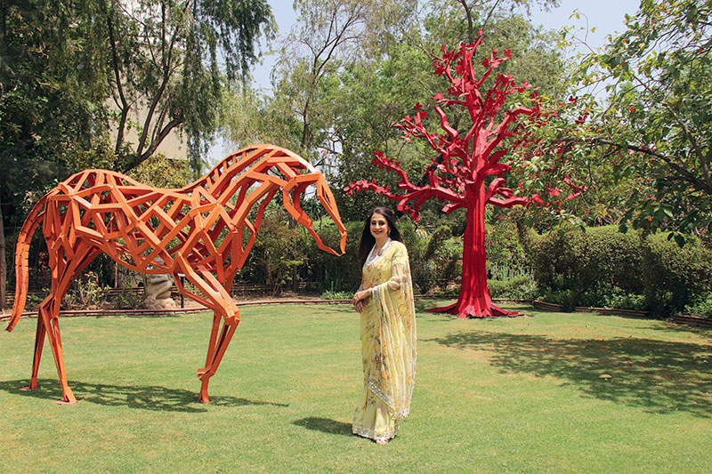 Sonal Ambani, Sculptor, Author, Gallery Owner, Philanthropist