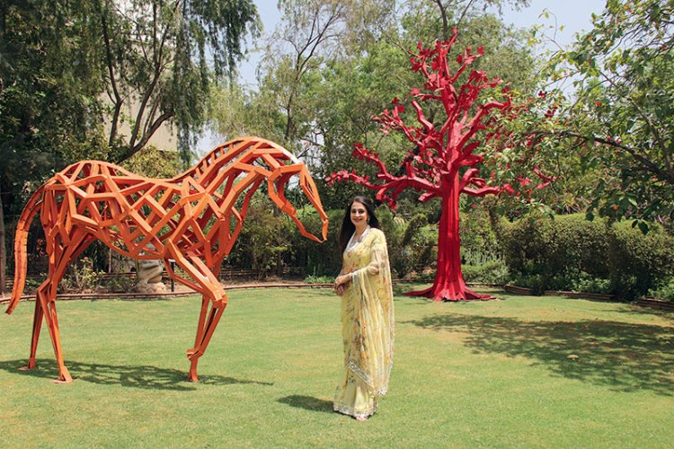 Sonal Ambani: creating and nurturing art