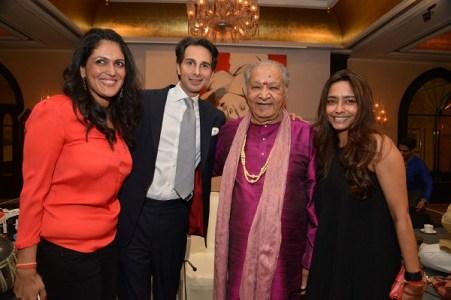 Sonal Singh, Amin Jaffer, Pt. Hariprasad Chaurasia, Deepanjana Klien
