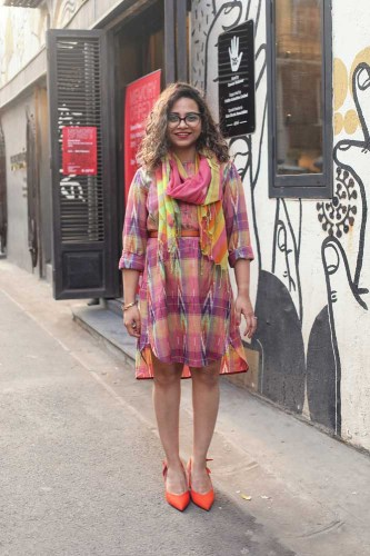 Sonam Jaisingh, fashion consultant and blogger