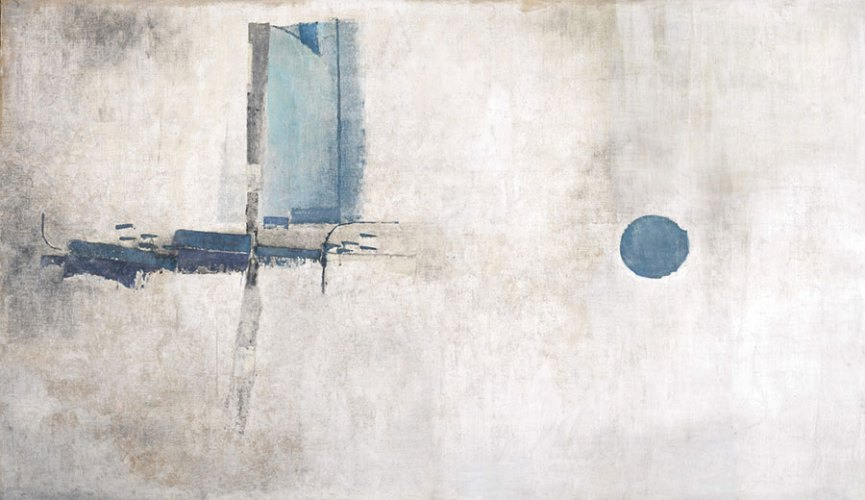 Untitled (1960) by V. S. Gaitonde, sold for 2.8 million dollars at Sotheby's Asia Week Sale in New York this March